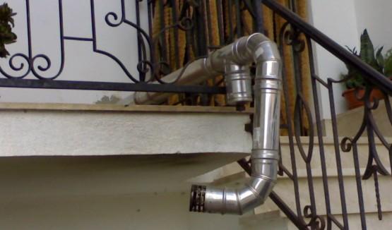 Tubo per stufa pellet stufa a pellet - Stufe a metano da parete ...